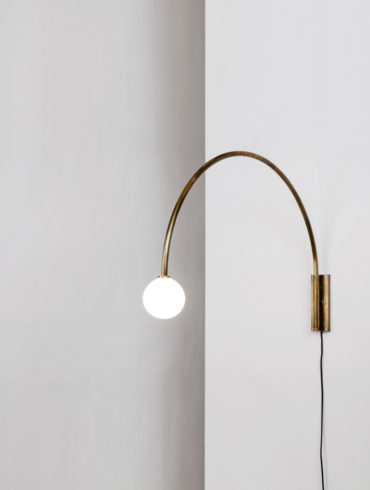 Aesence   Contour Wall Lamp by Allied Maker